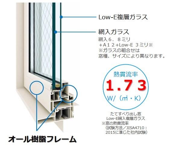 お部屋を暖かく快適に!【YKK AP防火窓】