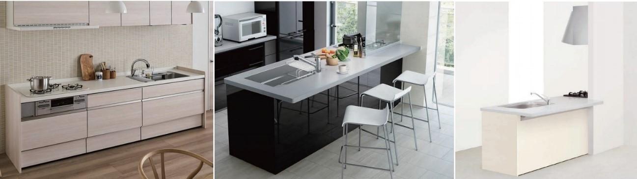 パパっと作れるおつまみ キッチン(LIXIL「AS」・タカラスタンダード「OFELIA」の紹介